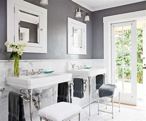 bathroom gray walls modern furniture bathroom decorating design ideas 2012