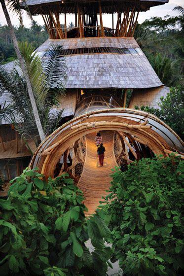 escobar tattoo bali a eco bamboo tree house in bali designed and hand