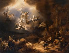 27129 angels announcing the birth of christ to the shepherds flinck