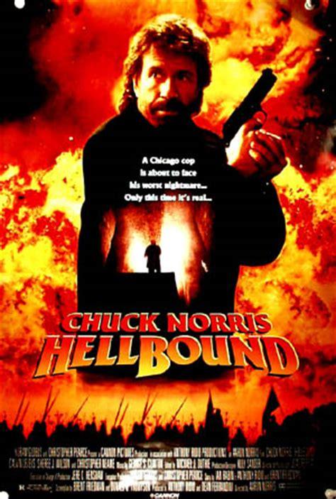 hellbound (1993) (chuck norris) one sheet r, m $25