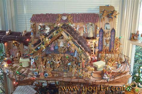 nativity christmas fontanini nativity creche baby