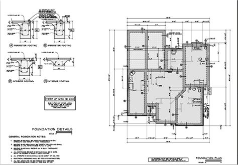 foundation layout exles foundation plan sle how i bring home the bacon