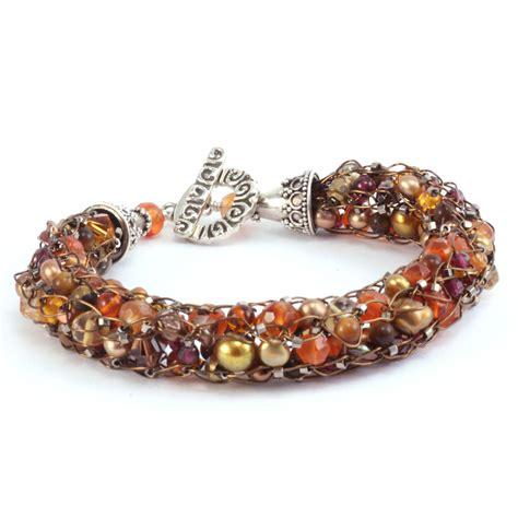 spool knitted bracelet
