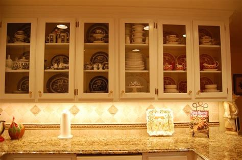 Kitchen Cabinet Doors With Glass Fronts Glass Front Cabinets For Your Kitchen