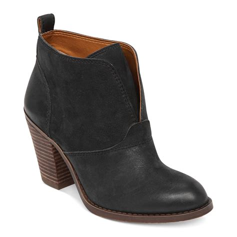 lucky brand s ehllen booties in black lyst