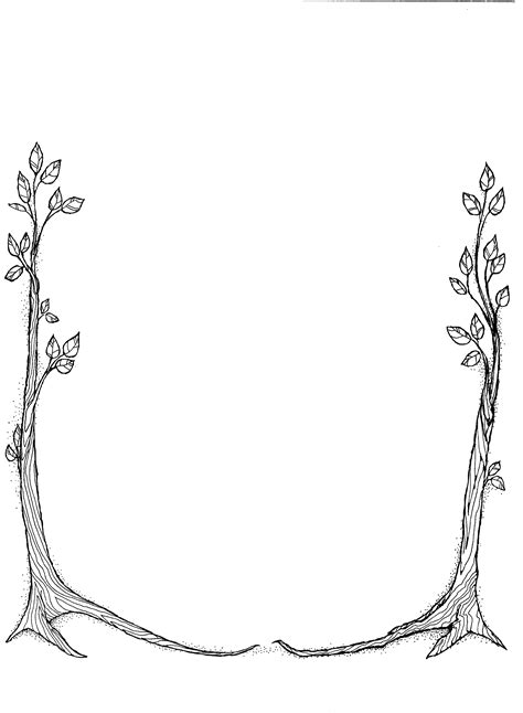 spring borders clip art free clipart best