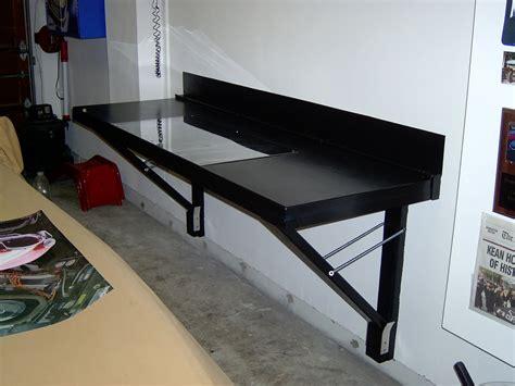 fold down work table for garage woodwork folding workbench garage pdf plans