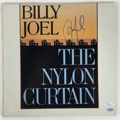 billy joel the nylon curtain lot detail billy joel signed quot the nylon curtain quot album jsa