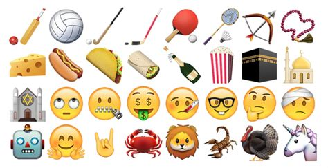 new iphone emojis ios 9 1 includes new emojis