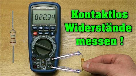 Motorrad Elektrik Messen by Kontaktlos Widerst 228 Nde Messen Youtube