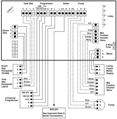 honeywell y plan wiring diagram gem sensors wiring