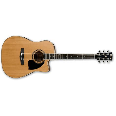 ibanez pf17ece lg low gloss elektro akustik gitar