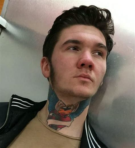 neck tattoo no job man says he can t get a job because of his neck tattoo