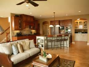 open floor plan kitchen ideas living room dining room and kitchen in the same space