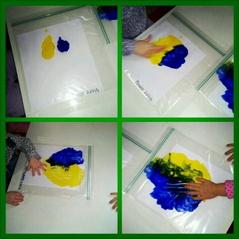 finger painting in zip lock bags preschool activities preschool preschool