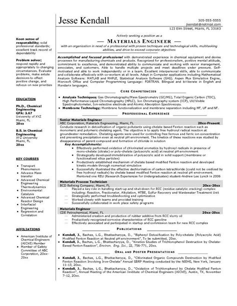 Engineering Resume by Electrical Engineer Resume Sle Electrical Engineering