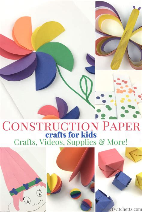Diy Construction Paper Crafts - construction paper crafts for