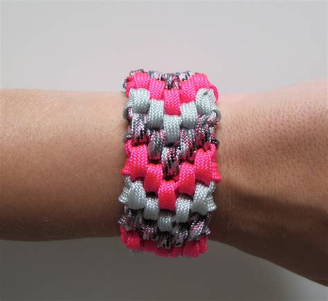 diy  strand braided friendship bracelet