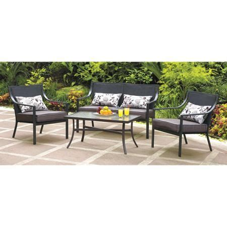 patio conversation sets patio and leaves on
