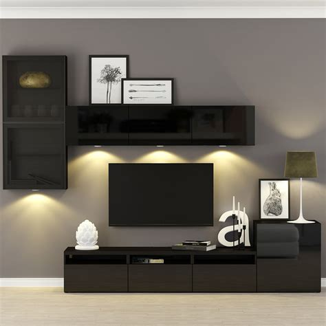 ikea best decor besta ikea 890 3d max
