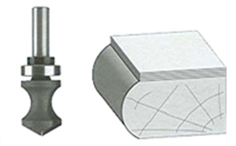 Router Bull profile bull nose router bits router bit guide