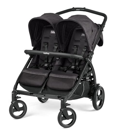 Peg Perego by Peg Perego Stroller Book For Two 2018 Onyx Buy At