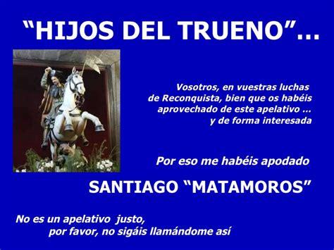 los hijos del trueno14 8420400734 santiago ap 243 stol testigo y m 225 rtir ii