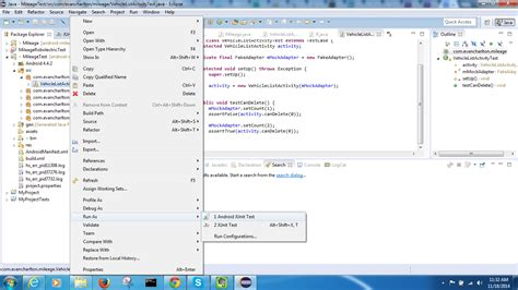 android studio junit tutorial android unit testing android testing framework and