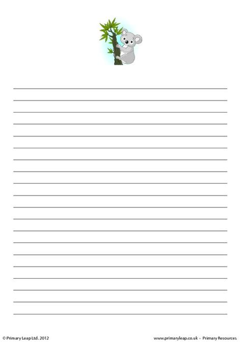 writing paper uk writing paper koala primaryleap co uk