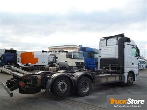 mega truck chassis mercedes benz euro 5 actros 2544 mp3 ll bdf air mega 2008
