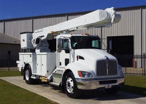 kenworth fleet trucks for sale altec am55 mh 2013 kenworth t370 new bucket trucks for
