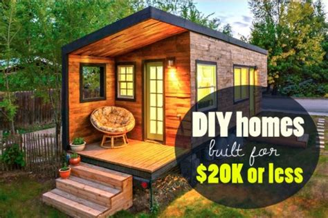 Diy House by 6 Eco Friendly Diy Homes Built For 20k Or Less