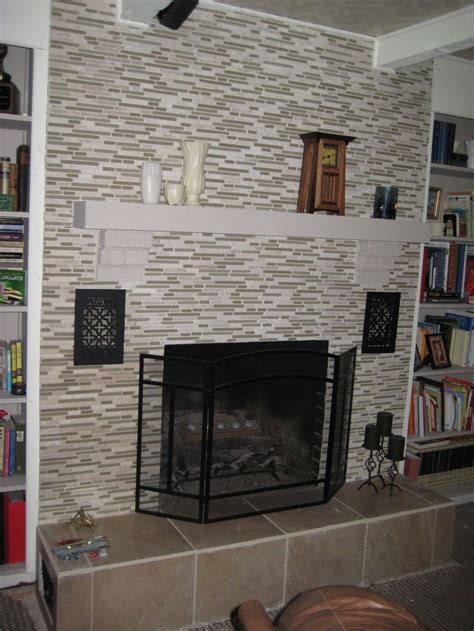 1000 images about fireplace on painted brick