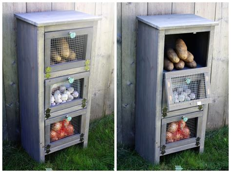 Vegetable Bins For Kitchen by White Vegetable Bin Cupboard Diy Projects