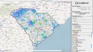 interactive map of carolina population of sumter county sc census 2010 and 2000