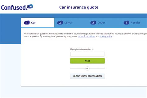 confused compare car insurance  comparison sites