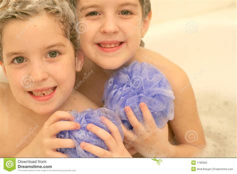 twin bathtub twins in the bath royalty free stock images image 1785059