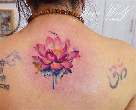 lotus watercolor tattoo best 25 watercolor lotus ideas on lotus
