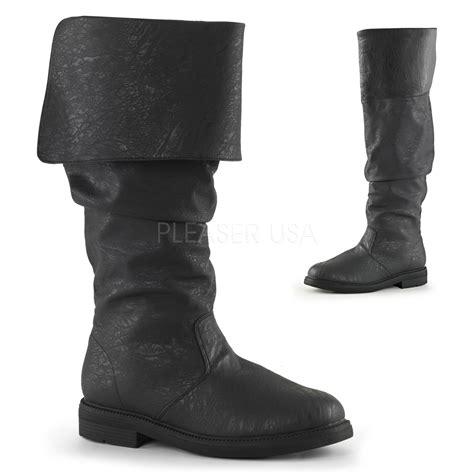 funtasma robinhood 100 s flat heel cuffed knee high