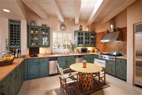 santa fe style kitchen cabinets pin by healthful mama on from house to home pinterest