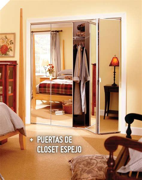 Puertas Para Closet Home Depot by Erias Kit Puerta Closet Plegable Con Espejo 60x205 Cm