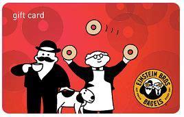 Einstein Bagels Gift Card - einstein bros bagels