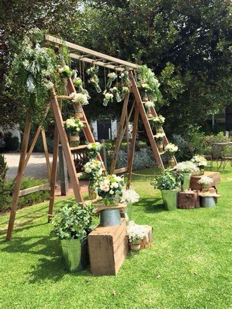 Wedding Backdrop Hire Adelaide by Ladder Backdrop Setup At Middleton Huts Beautifully