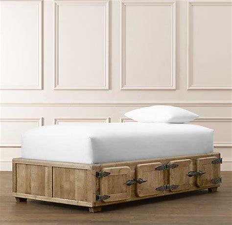 locker bed durant locker storage bed 8 door beds bunk beds restoration hardware baby child