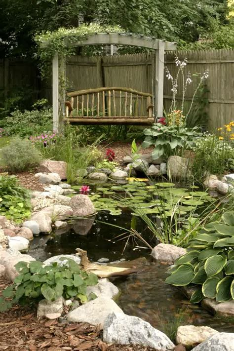 vintage backyard vintage backyard pond garden ideas