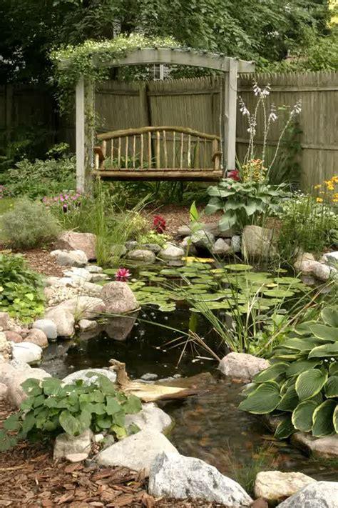 Vintage Backyard by Vintage Backyard Pond Garden Ideas