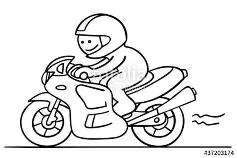 Gezeichnete Motorrad Bilder by Quot Figur F 228 Hrt Motorrad Quot Stockfotos Und Lizenzfreie Vektoren