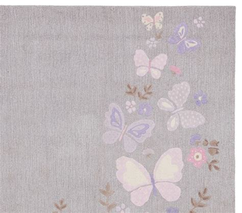 Gabrielle Rug Pottery Barn Kids Pottery Barn Butterfly Rug