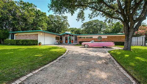 mid century modern home design blogs incredibly preserved 1950s time capsule house in dallas
