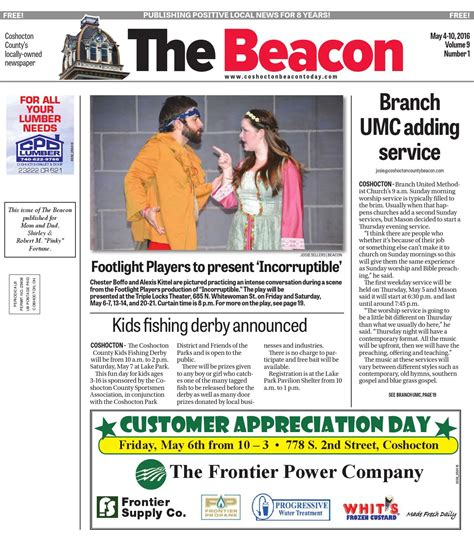 august 31 2016 coshocton county beacon by the coshocton